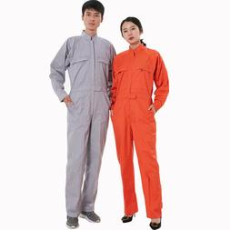4XL Unisex Boilersuit Coverall Overall Work Jumpsuit Auto Re
