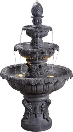 Kenroy Home Classic Outdoor Floor Fountain ,45 Inch Height,