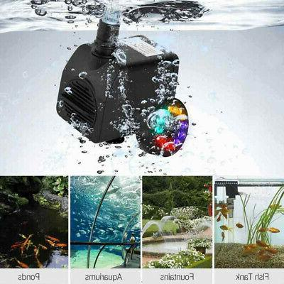 Fountains Fish Water Pump Outdoor