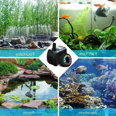 With LED Light Water Outdoor Fish Tank