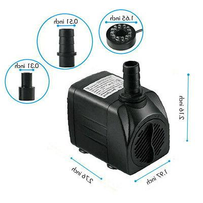 Submersible Pump 12 Outdoor Plug New