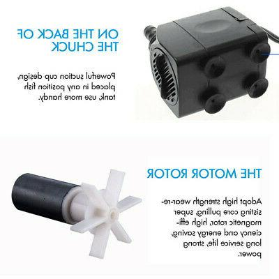 Submersible Pump 12 LED Lights Outdoor Plug