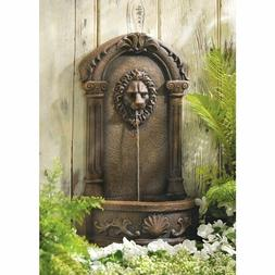 large polyresin fountain outdoor decor sculpture carved