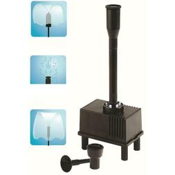 Outdoor Fountain Water Pump With LED Light Submersible Pump