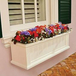 spring collection outdoor lighted impatiens floral window