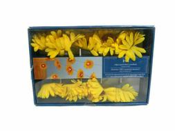 Pier 1 Sunflowers String Lights LED Yellow Flower Spring Ind